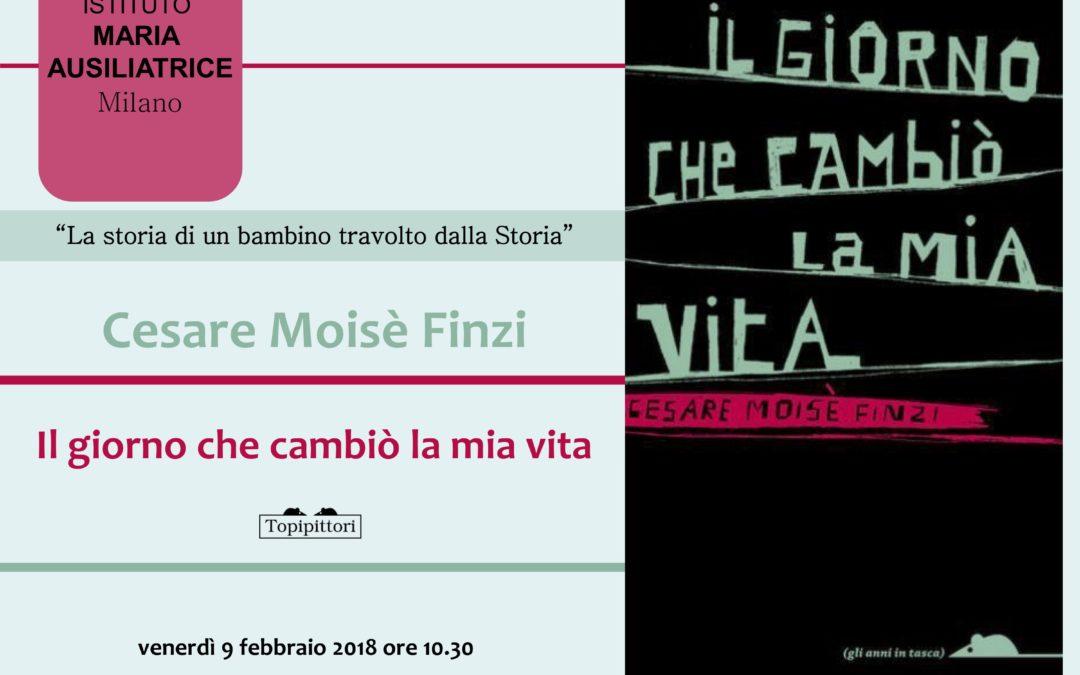 Incontro con l'autore Cesare Moisè Finzi