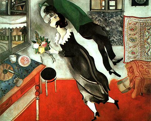 San Valentino con Chagall